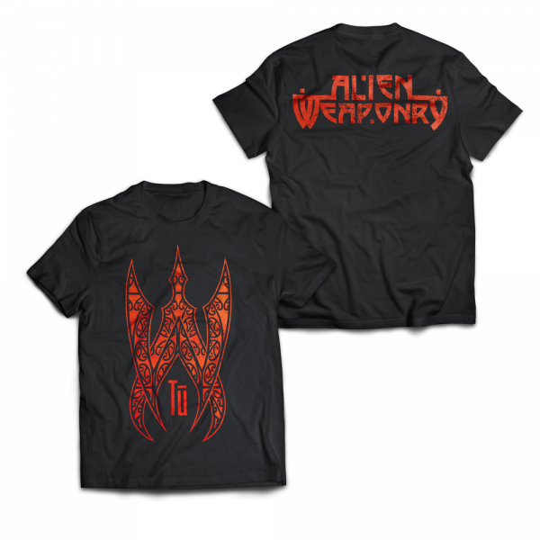 Alien Weaponry - Spiky AW Red - T-Shirt